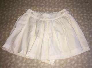 White Skirt Pants