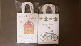 Cute Kraft Paper Bag
