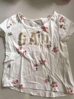 Gap T shirt baby girl