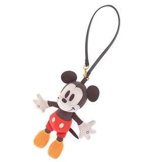 日本 Disney Store 直送 Mickey 米奇絨面掛袋公仔掛飾