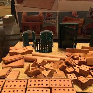 🚚 仿真磚塊礫石建造模型