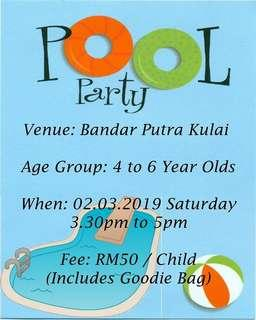 Pool Party For Kids