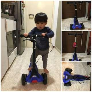 🚚 Sturdy & Foldable Scooter, ride less than 5x