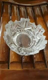 New glass ash tray