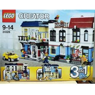 MISB Lego 31026 Creator 系列 Bike Shop and Cafe 單車咖啡店 (100%靚盒)