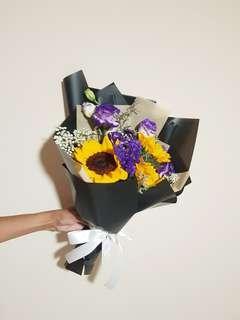 🚚 Sunflower Bouquet | Graduation Bouquet