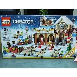 MISB Lego 10245 Creator 系列 Santa's Workshop 聖誕工作室 (100%靚盒)