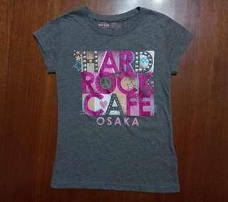 Hard Rock Cafe Osaka Tshirt for Young Girls
