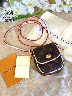 LV Monogram Pochette Cancun Bag