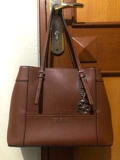 Original Store Guess Brown Bag