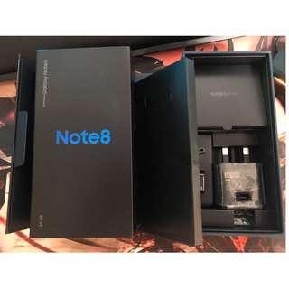 Samsung Note 8 64gb Black