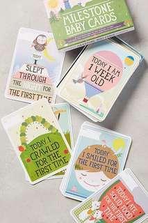 🚚 Baby Milestone Cards