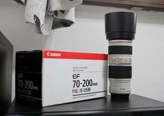 Canon 70-200mm IS f4 L