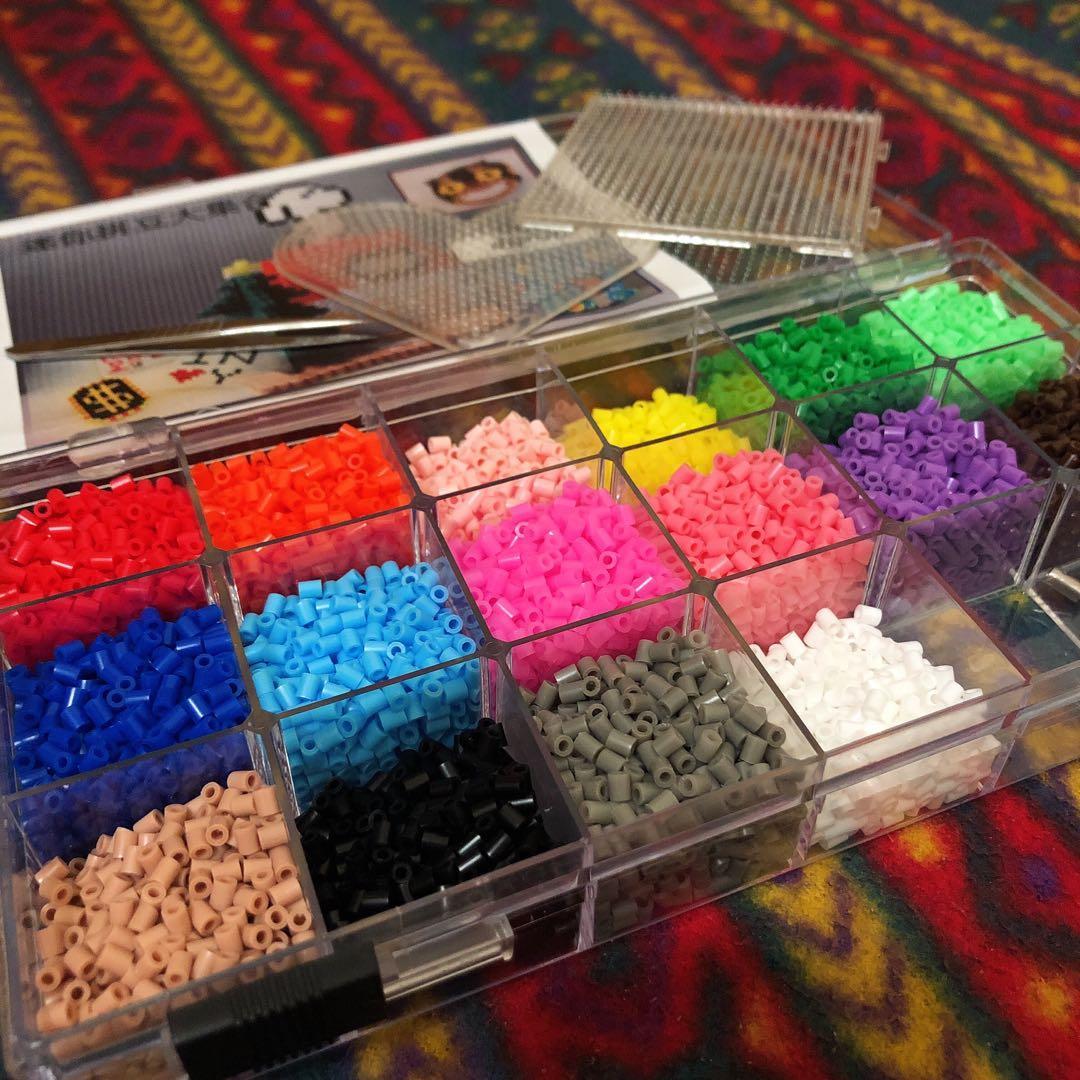 拼豆材料包 拼豆材料盒 拼豆工具
