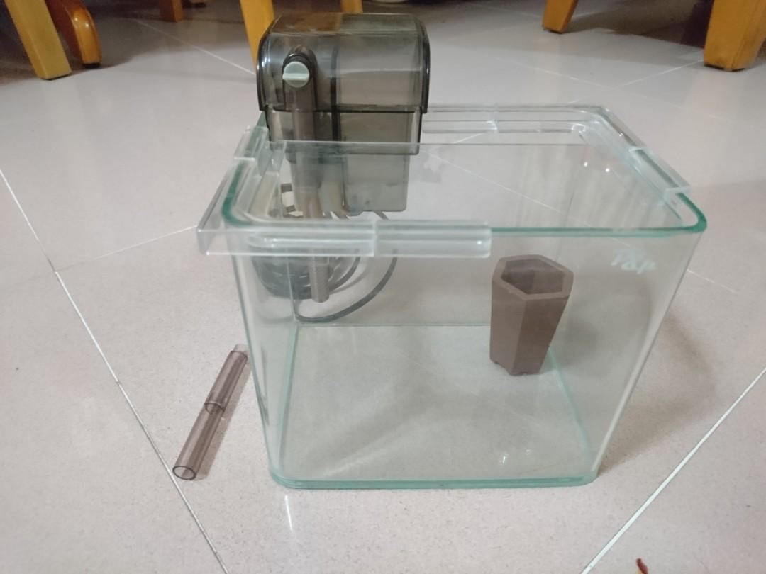 (Part 1) (二手全套1+2 $500)可議價即賣 養蝦 養水草 養魚 小水缸 迷你 書檯 客廳 (環保價,全套二手,懶人包,入門試玩)