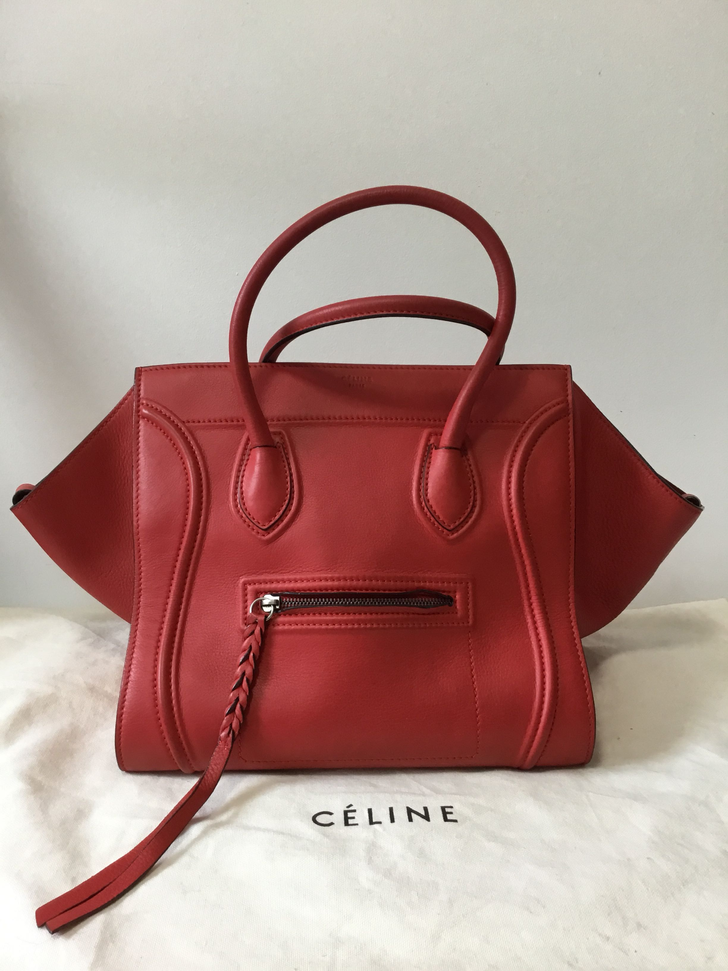 c7b2d1d5db 💯% authentic Celine Phantom calfskin medium handbag