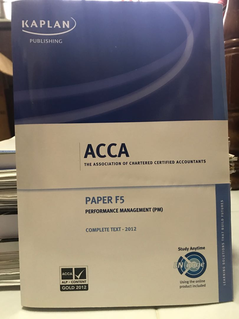 ACCA F5 Performance Management, Books & Stationery