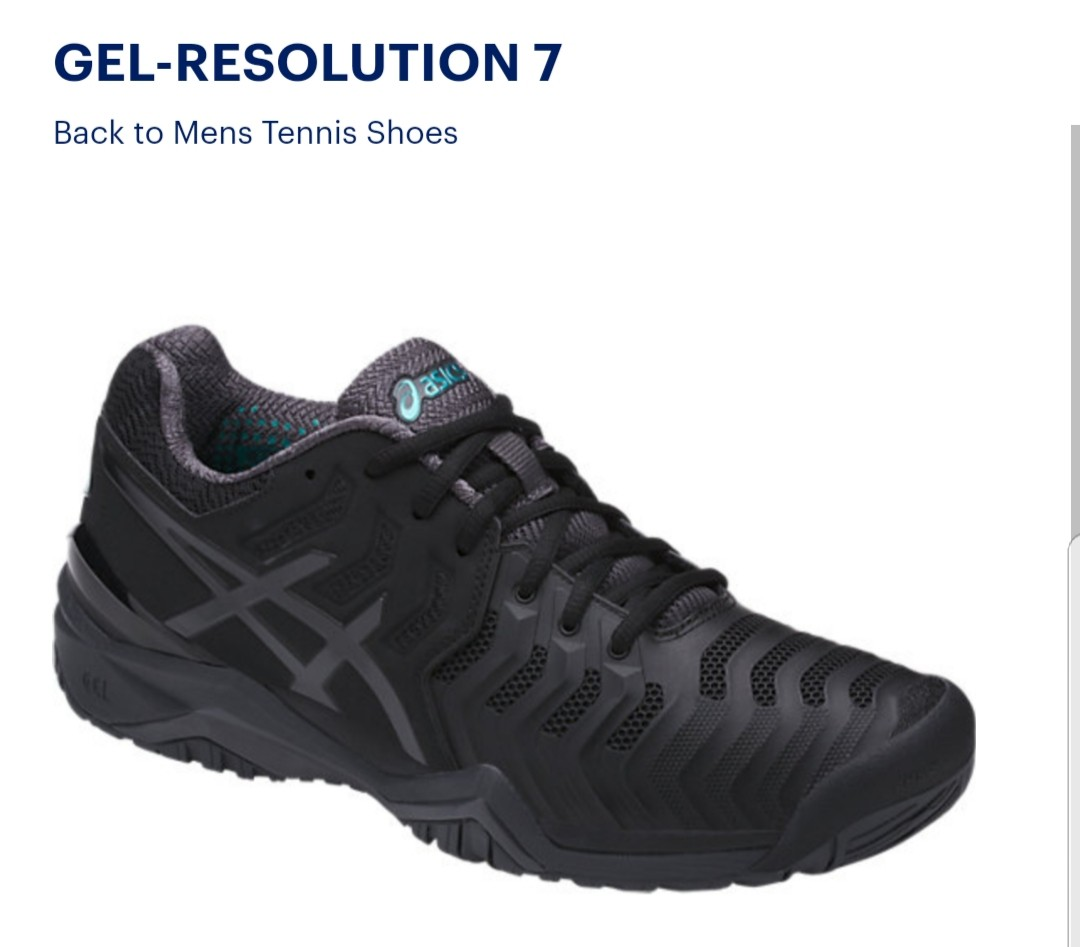 asics resolution 42.5