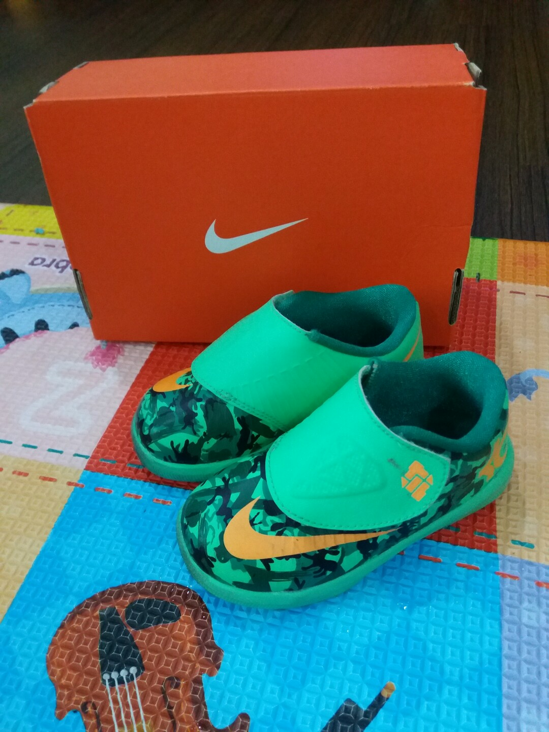 df25907f46f9 Authentic kids Nike KD VI for sale!