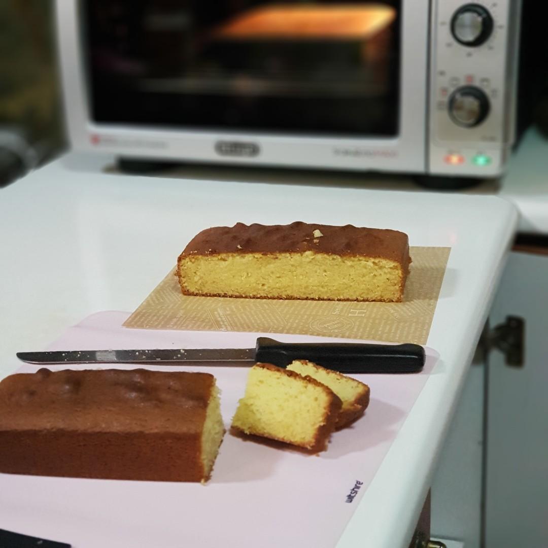 Beardy Bakes Original Suji Cake / Sugee Kek / Semolina Cake