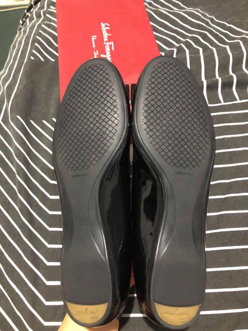 Brand New Salvatore ferragamo ballet leather size 8.5