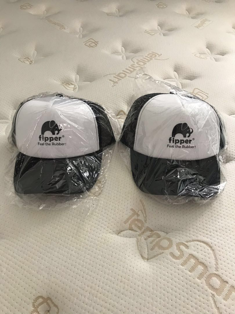 85b714f52afd7 Bundle of 2  Fipper Black and White Cap   Hat