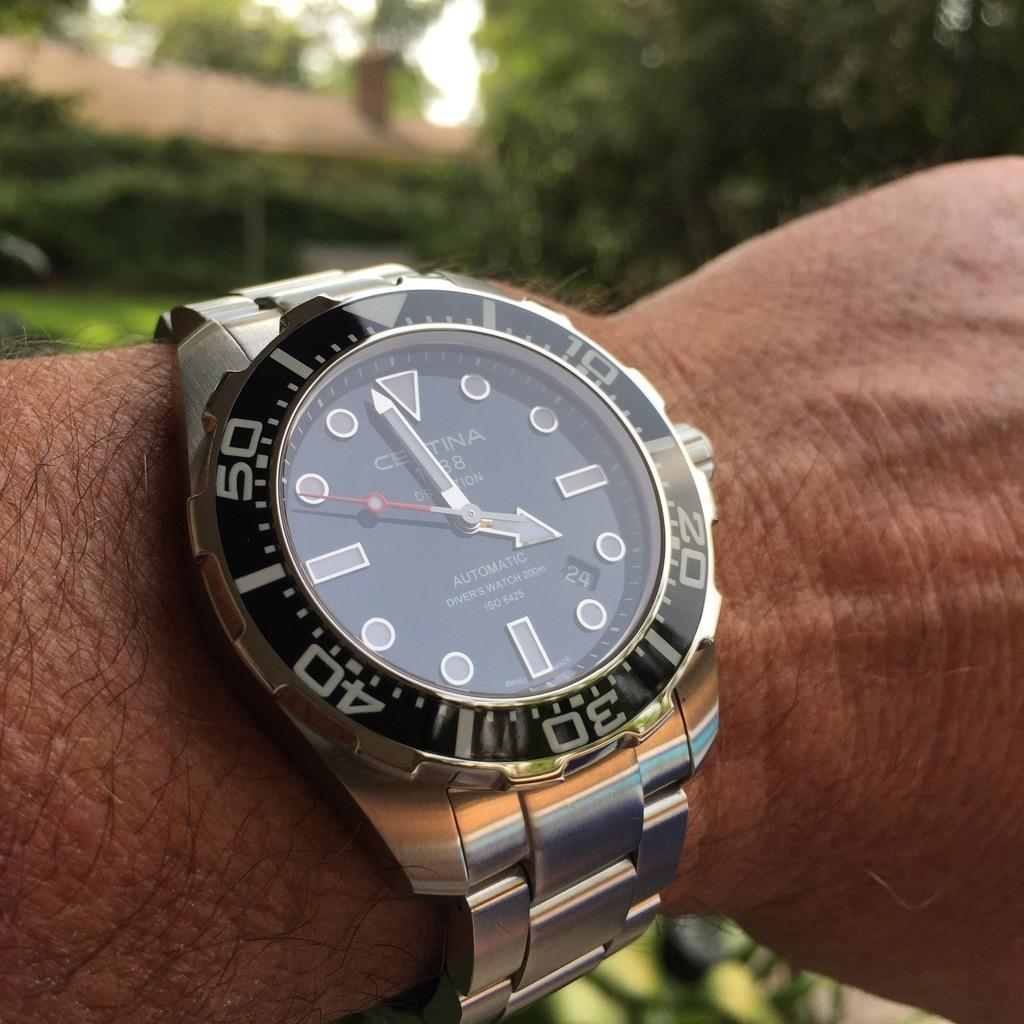 Certina DS Action Diver Automatic, Luxury, Watches on