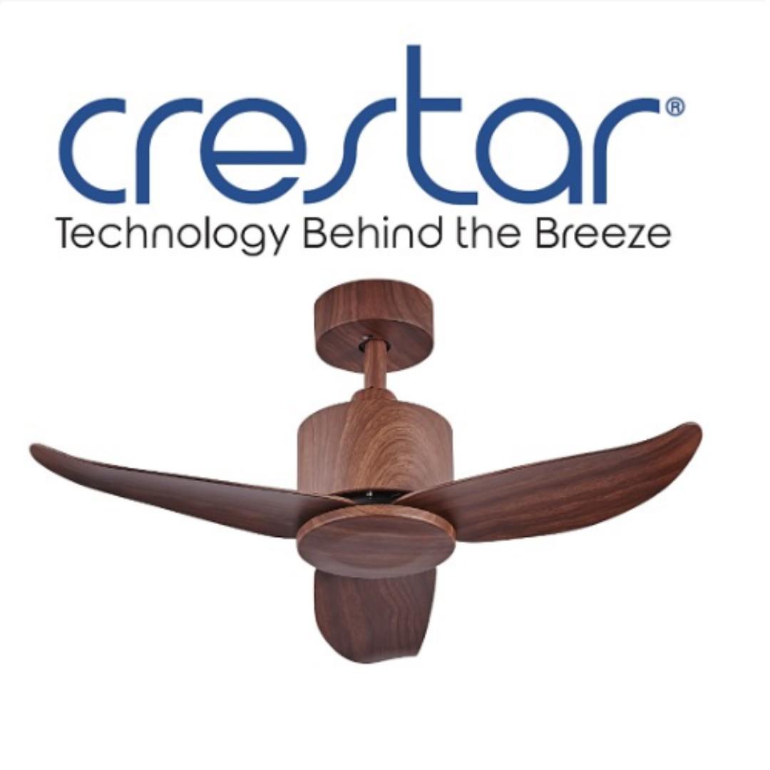 Crestar Valueair 40 Inch 3 Blade Ceiling Fan With Remote Control