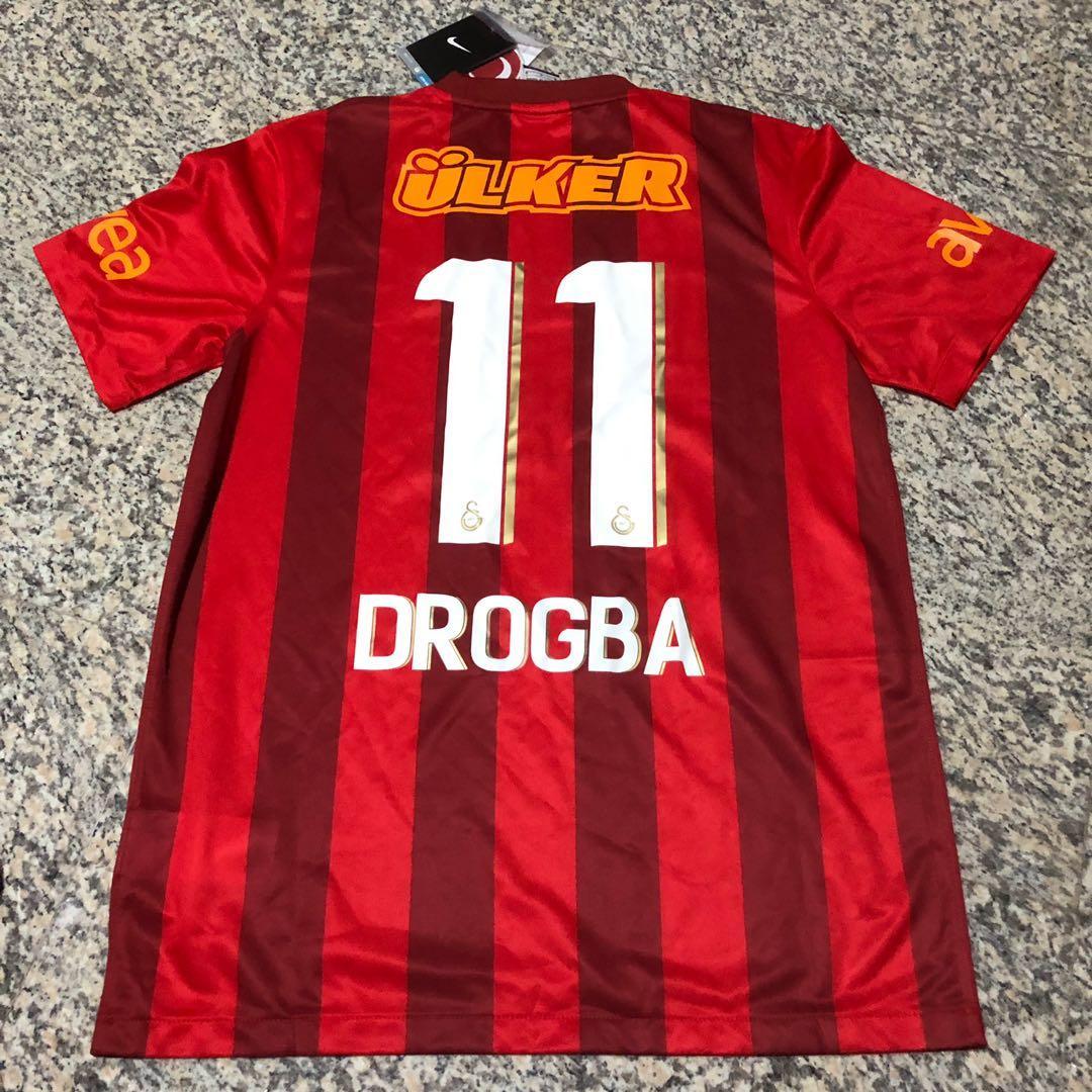 pretty nice d121f b2625 Didier Drogba 2013 Galatasaray Home Jersey, Sports, Sports ...