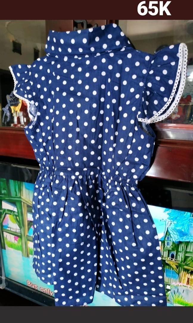 Dress new katun baby