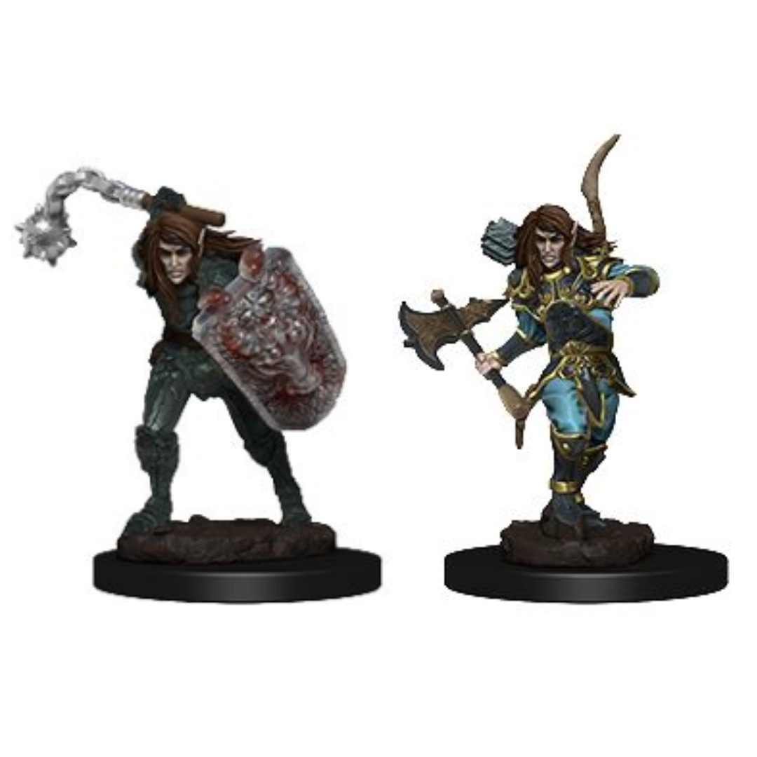 Elf Male Fighter Dungeons Dragons Miniatures Toys Games