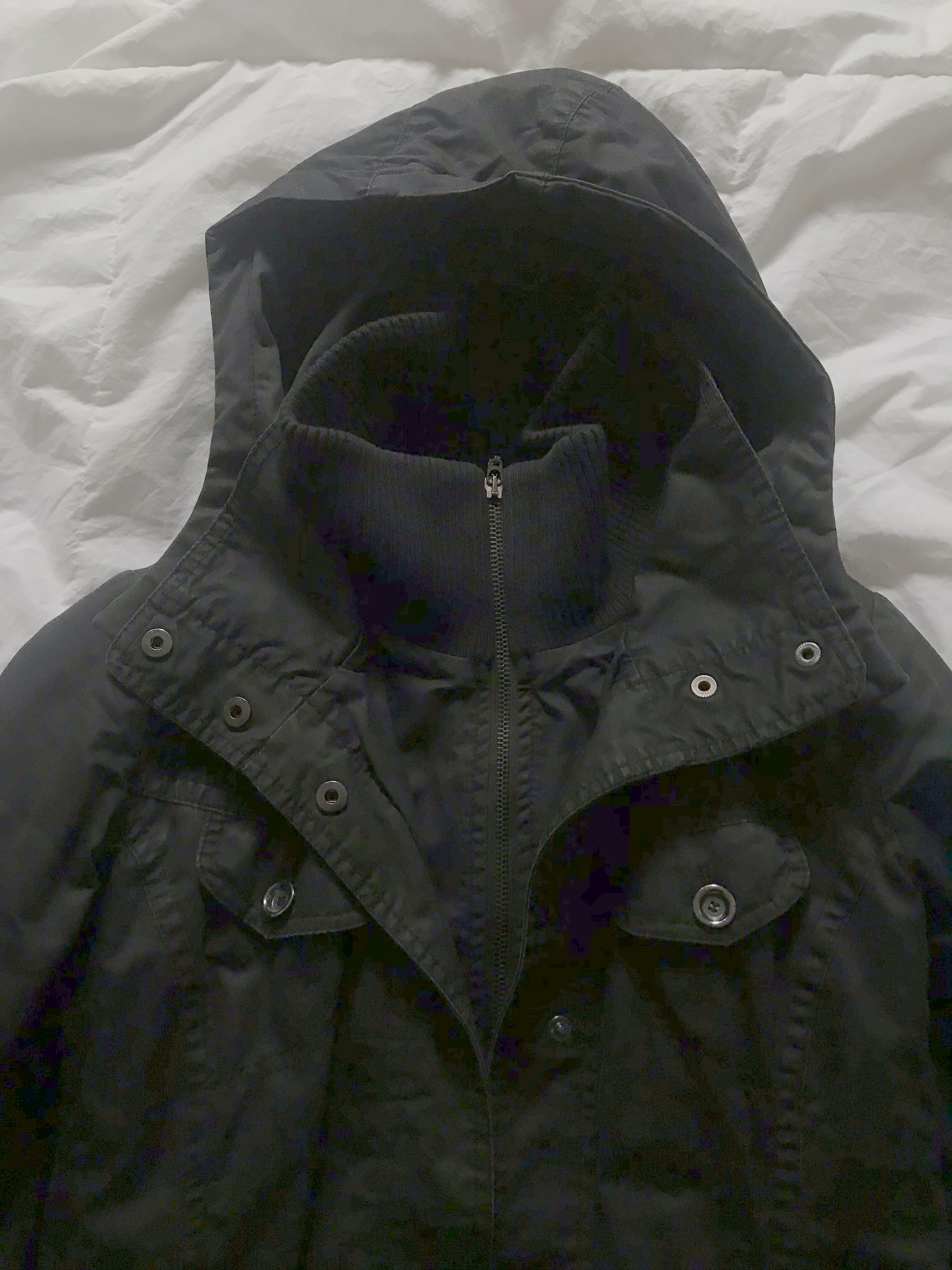 ESPRIT size 0 black jacket - fits like a SMALL (can be cinched in waistline)