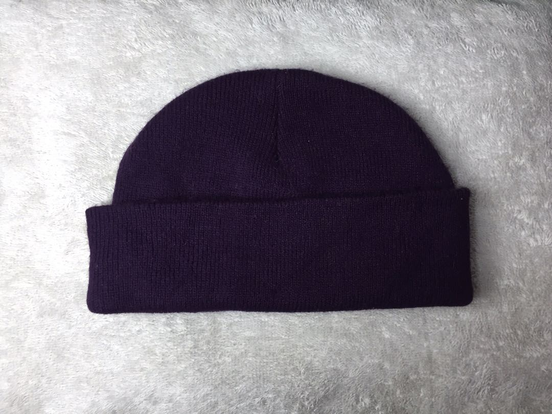 eff255907c14f0 Fisherman Beanie Violet, Men's Fashion, Accessories, Caps & Hats on ...