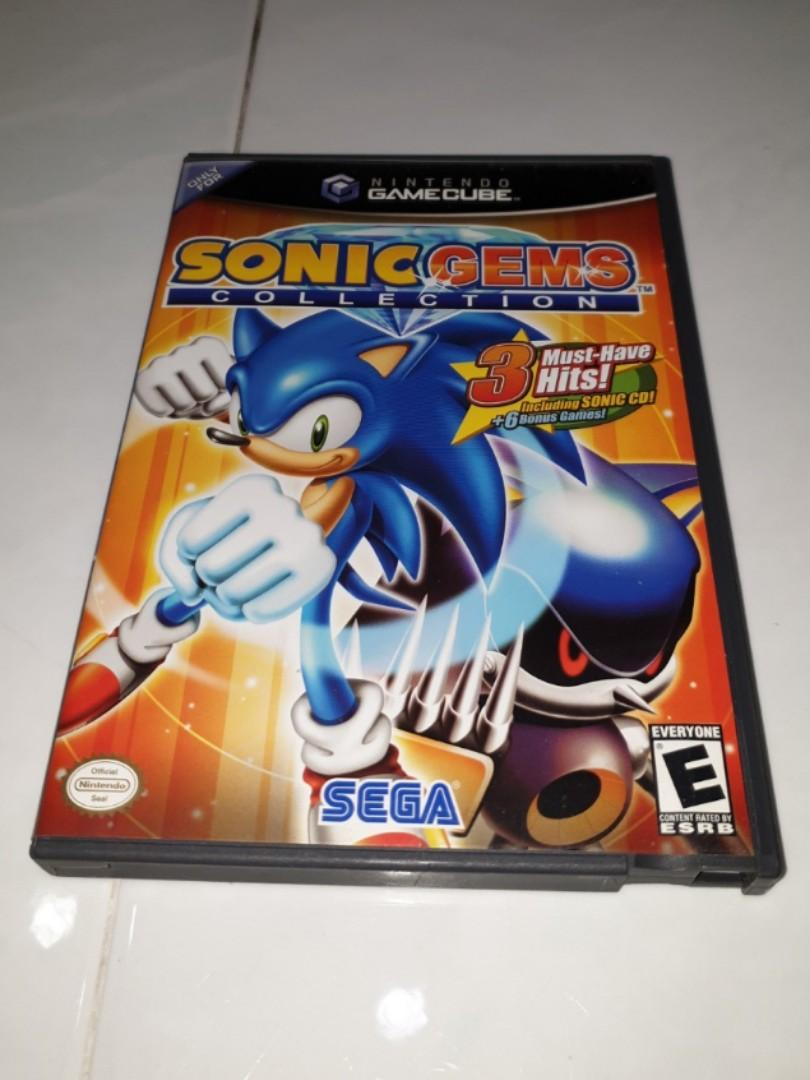Gamecube Sonic Gems Collection Retro Game, Toys & Games