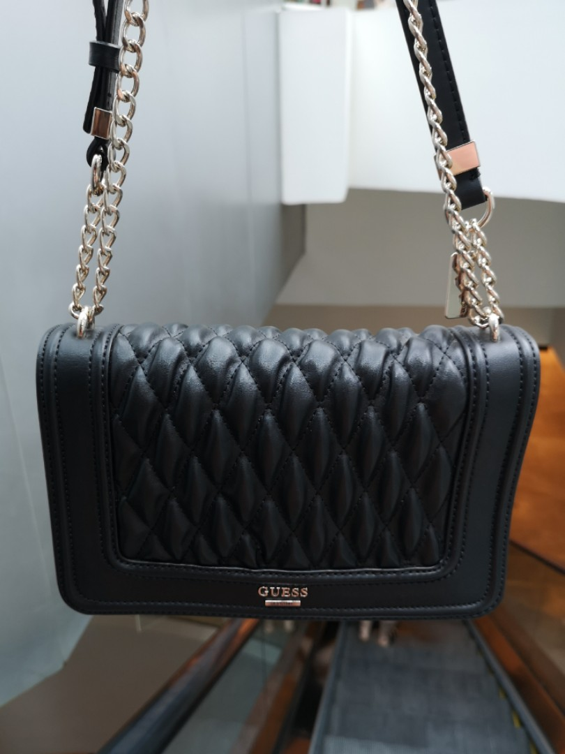 Guess Quilted Crossbody Bag a940c48796e0a