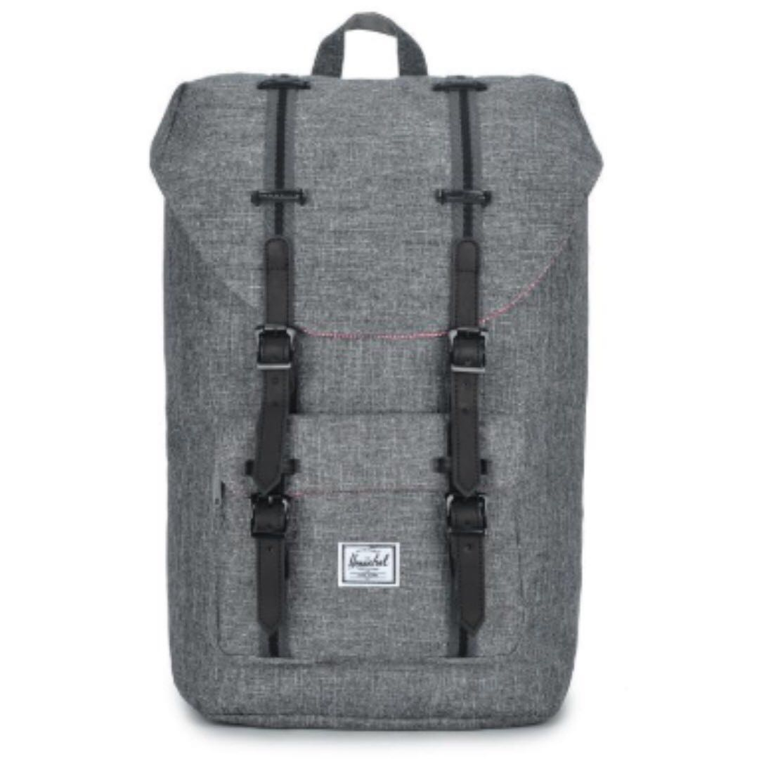 43b10923356 Herschel Supply Co - Little America Backpack (Raven Crosshatch Grey ...