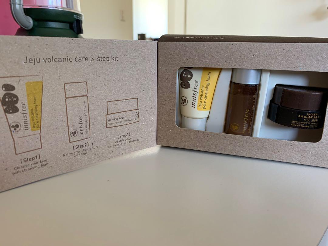 Innisfree Jeju Volcanic Care 3-Step Kit