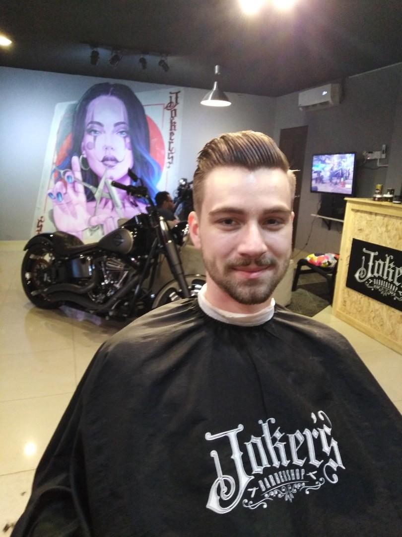 Joker's barbershop