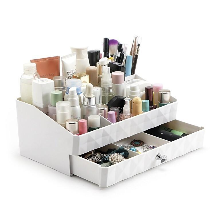 Korea Design Cosmetic Storage Box Makeup.
