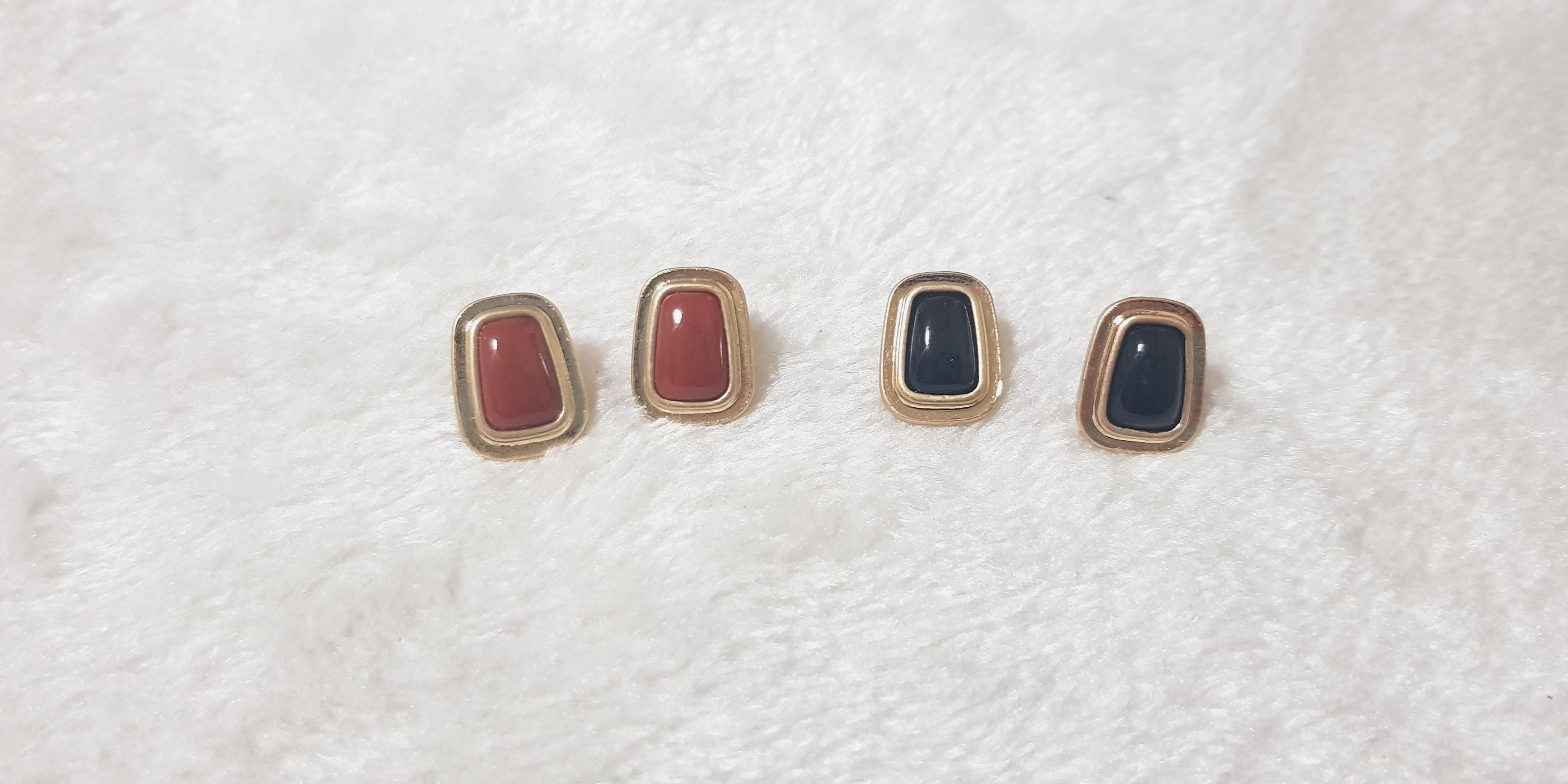 cff202d3e Kr Hera Stud Earrings, Women's Fashion, Jewellery, Earrings on Carousell