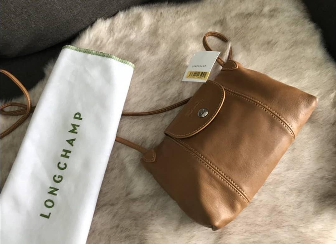 8d573fbfb8 Longchamp Le Pliage Cuir Crossbody Bag, Luxury, Bags & Wallets ...