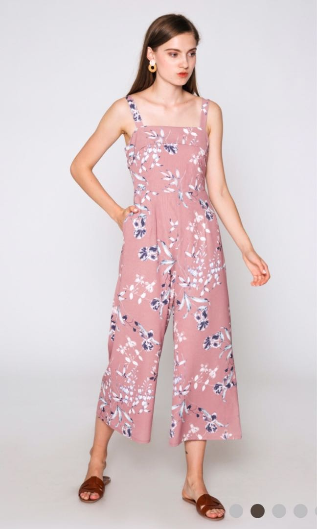 0b86b1fd921 Love   Bravery Bethany Floral Jumpsuit