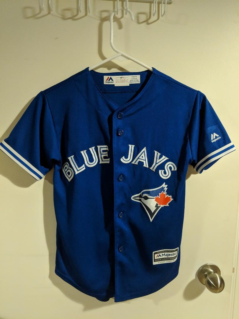 Majestic Youth Toronto Blue Jays Jersey (Youth Small)