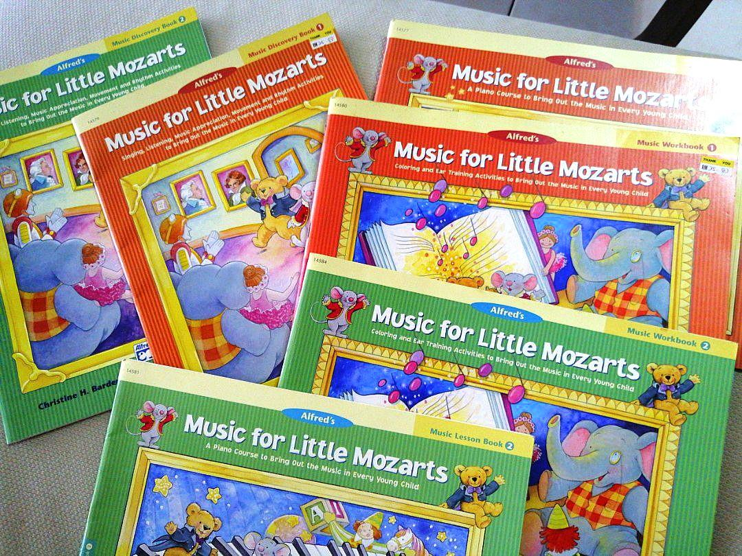 Coloring and Ear Training Activit... Music for Little Mozarts Music Workbook 1