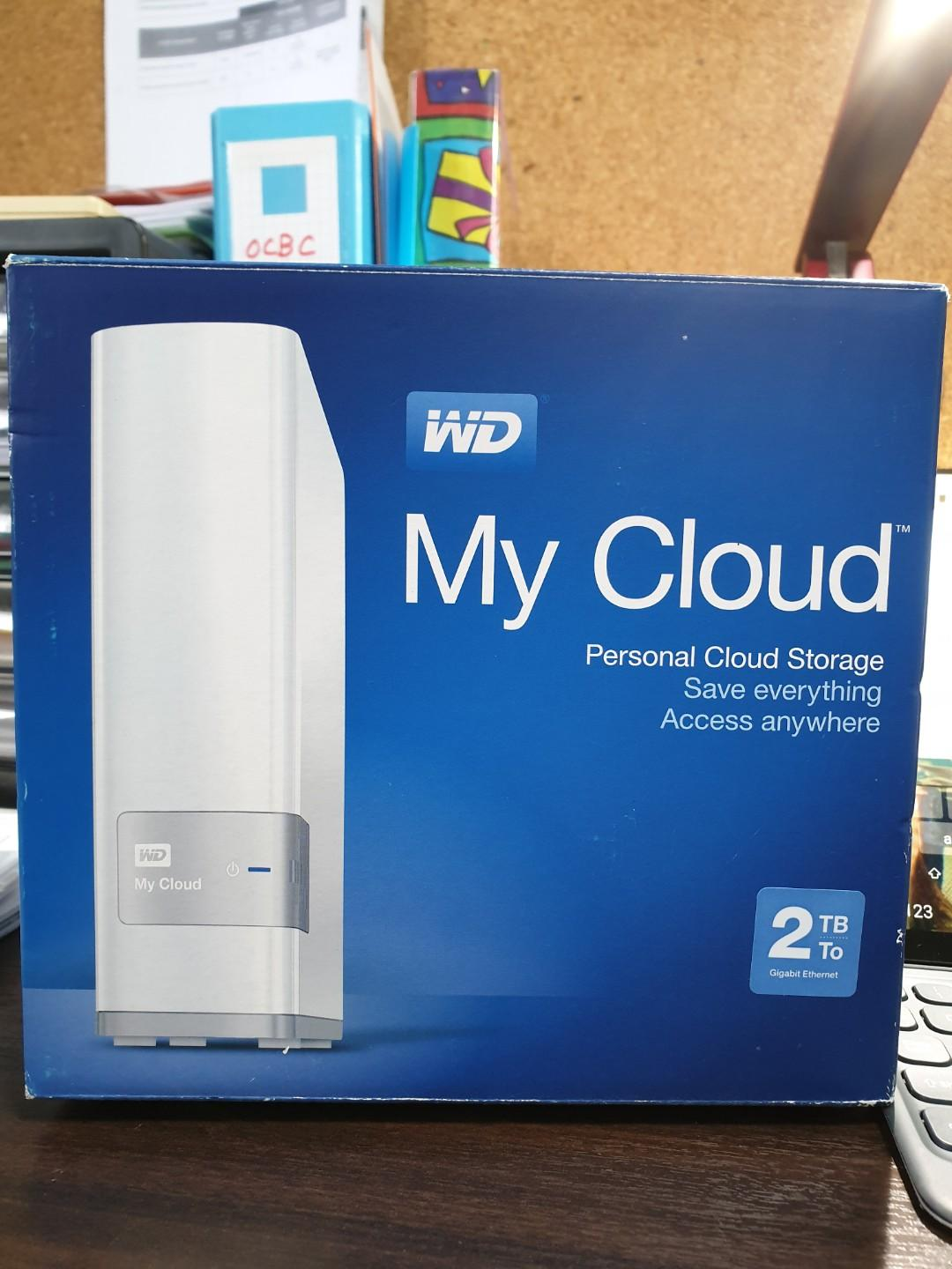 My Cloud- your personal cloud storage
