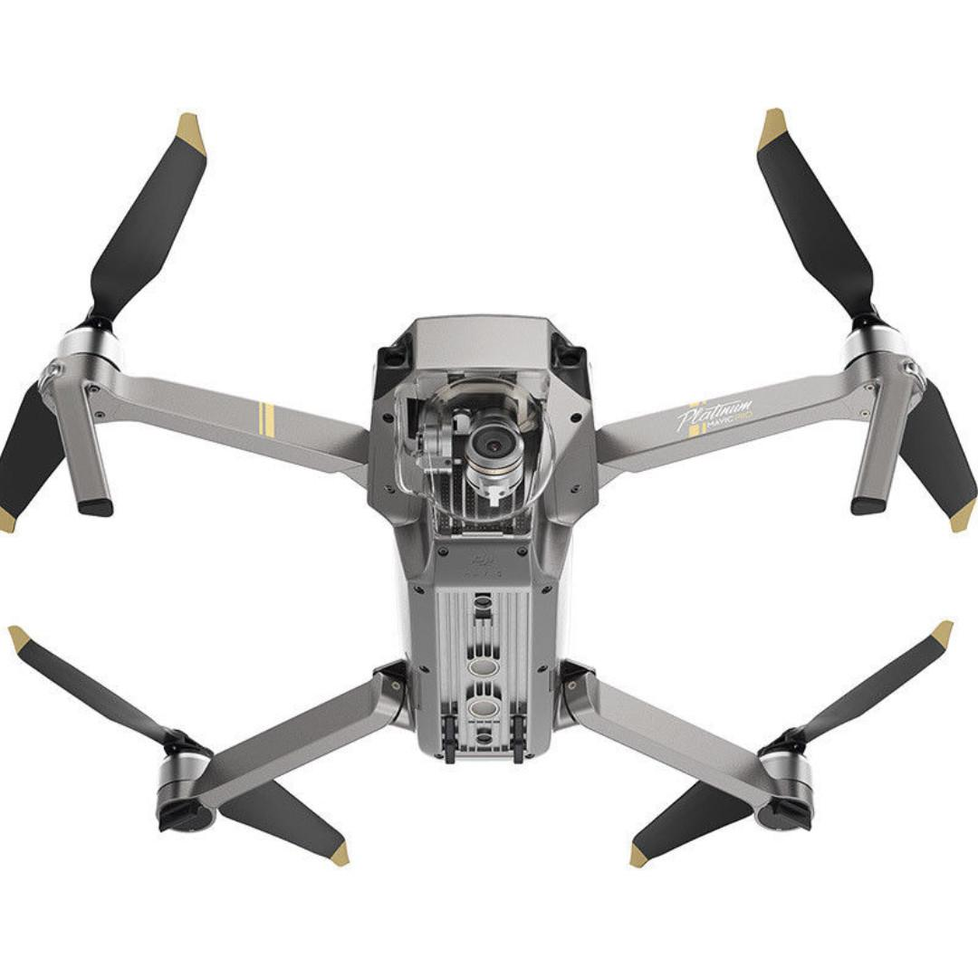NEWEST DJI MAVIC PRO PLATINUM with 4K Stabilized Camera, 30 MINS Flight, Noise Reduction