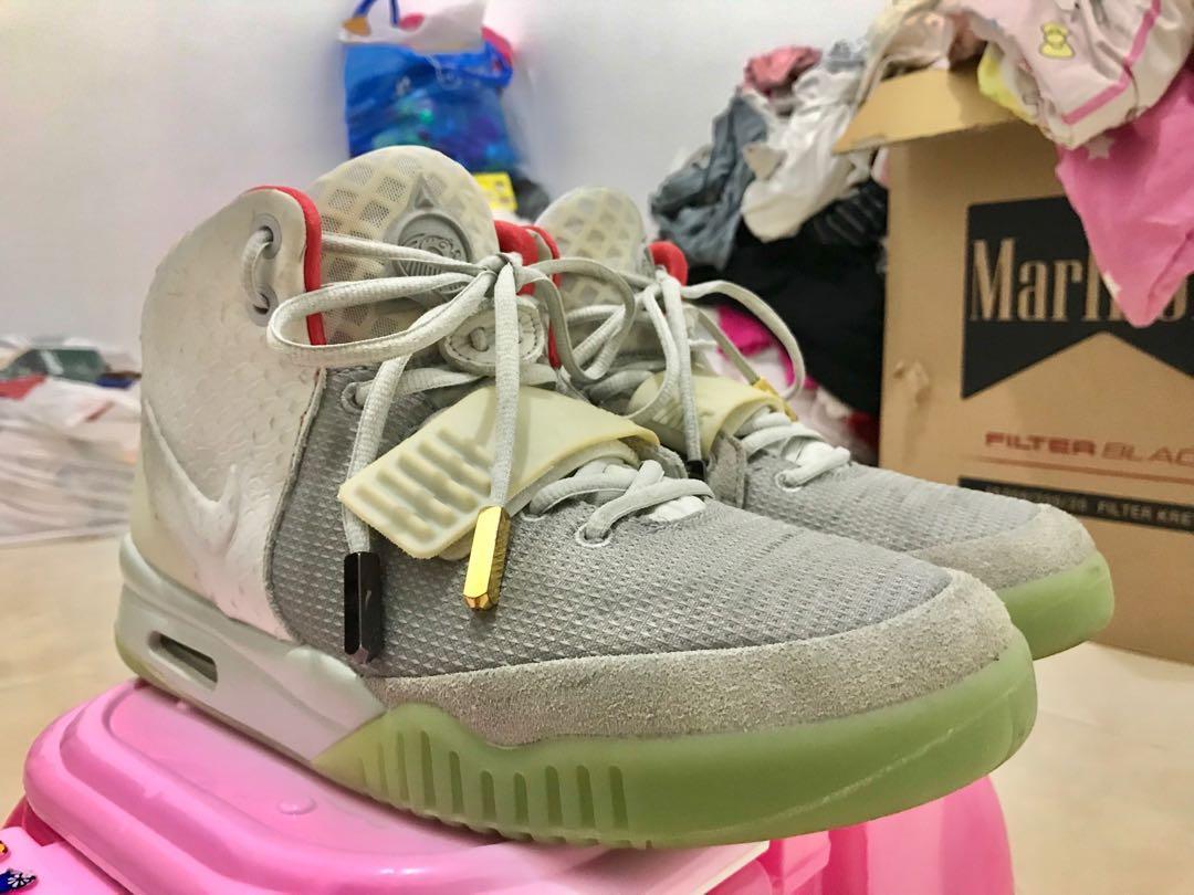 8cc7913d3 Nike Air Yeezy 2 Pure Platinum