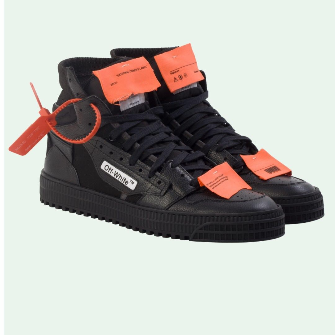 Off-white Low 3.0 Sneaker Black f9fdbdd791