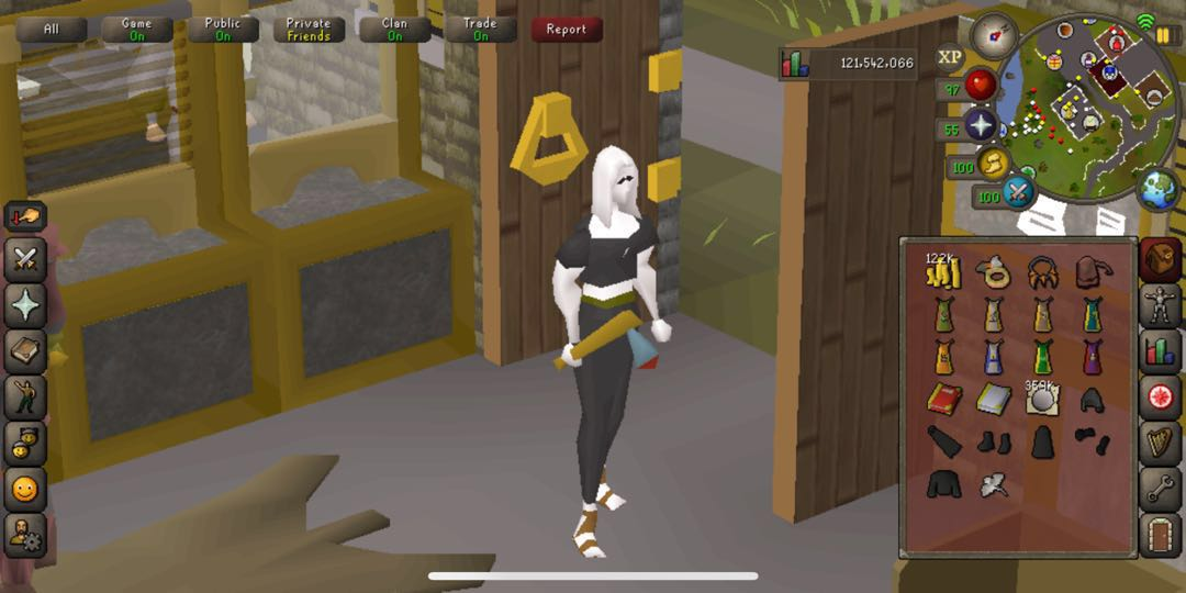 trade runescape account