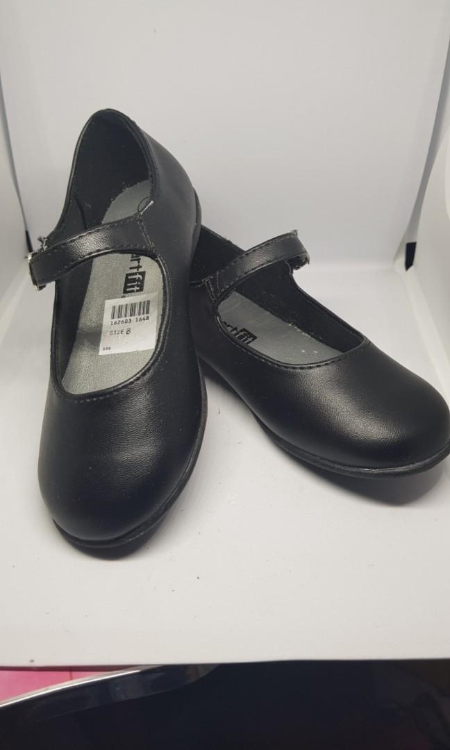 Payless Black School Shoes, Babies